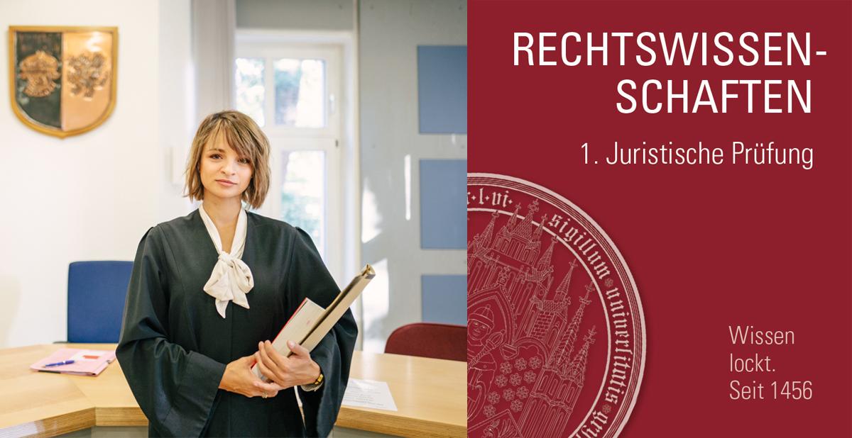 Studiengang Rechtswissenschaften